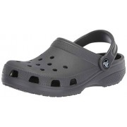 Crocs Classic, Zuecos Unisex Adulto, Gris, 36/37 EU