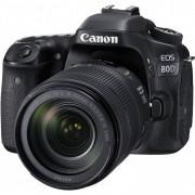 Canon Eos 80d + 18-135mm Is Usm - Man. Ita - 4 Anni Di Gar. In Italia