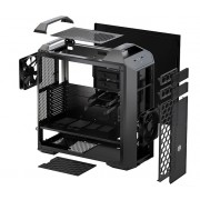 "CARCASA COOLER MASTER. MasterCase 5, mid-tower, ATX, 2* 140mm fan (inclus), I/O panel, black ""MCX-0005-KKN00"""