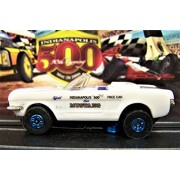 Auto World 1964 Ford Mustang Convertible Indianapolis 500 Pace Car Ho Scale Slot car