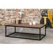 Table basse industrielle en bois New Soho