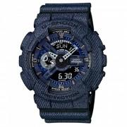 reloj de moda casio g-shock GA-110DC-1A-denim