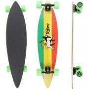 X7 Longboard Pintail X7 Reggae - VERMELHO/VERDE