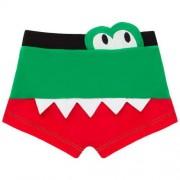 Sunga boxer em - Alligator - Cara de Criança SBB3270 JACARE SUNGA BOXER BEBE --M