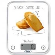Електронна кухненска везна Tefal, LCD дисплей, Стъклена, Капацитет до 5кг. BC5133V0