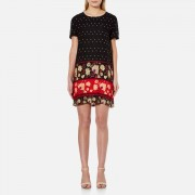 MINKPINK Women's Fallen T-Shirt Dress - Multi - L - Multi