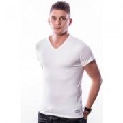 Ten Cate Men T-Shirt V-Neck White Two Pack ( 30217)