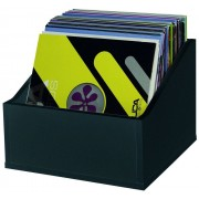 Glorious Record Storage Box Advanced 110 Black