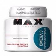 Ômega 3 90 Cápsulas - Max Titanium