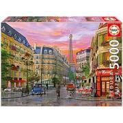 Educa Rue Paris Puzzle, 5000 Piece