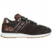 Hogan Scarpe sneakers donna camoscio r261