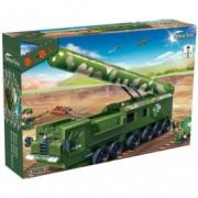 BANBAO kocke vojni kamion sa raketom 6202