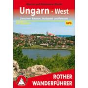 Wandelgids Hongarije west - Ungarn west, Zwischen Balaton, Budapest und Mecsek | Rother