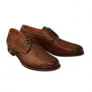 Cordwainer gevlochten schoenen, 41 - notenbruin