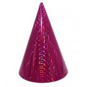 Kicsi kalap, hologramos, magenta 6 db/cs