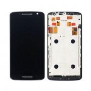 Display Cu Touchscreen Si Rama Motorola Moto X Play XT1562 Original Negru