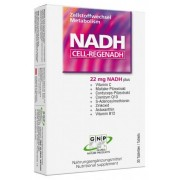 GNP (Global Nature Products) NADH - CELL-REGENADH - 22 mg + Vitamin C