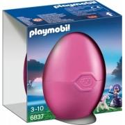 Pusculita cu printesa si calut Surprise Eggs Playmobil