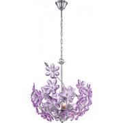 Pendul PURPLE 40 W.2x60 W Auriu, Opal 5141 Globo Lighting