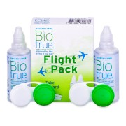 Bausch and Lomb Solução Biotrue Flight Pack 2 x 60 ml - Excelente preço, envio rápido!