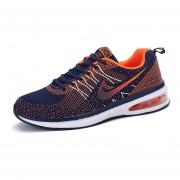 Zapatos De Tenis Casual Zapatillas Masculino Correr Viajes -Naranja
