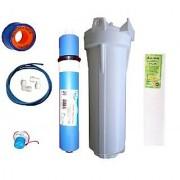 EarthRosystem Service Inline Filter Set1 Membrane 1 Prefilter 1spun(Pp) 2 Elbow 1taflon Tape 5meter Pipe 1 Solenoid Valve (Sv) 24 V