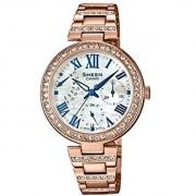 Casio Sheen Analog Mother Of Pearl Dial Womens Watch-SHE-3043BPG-7AUDR (SH194)
