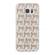 Fabienne Chapot Smartphone covers Cheetah Softcase Samsung Galaxy S7 Edge Bruin