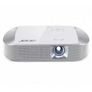 Projektor Acer K137i, DLP, 1280x800, 700lm, do 30000h, 10k:1, HDMI, USB2.0, zvučnici, bijela, torba, 24mj, (MR.JKX11.001)