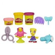 Jucarie Play-Doh Town Hairdresser And Bird