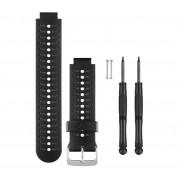 Bracelet de Remplacement Garmin Noir et Gris Forerunner 230/235/630/735XT