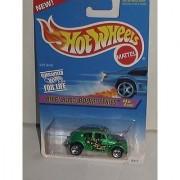 1997 HOT WHEELS BIFF! BAM! BOOM! SERIES #4/4 VW BUG 5 SPOKE - NO HOT WHEEL TAMPO