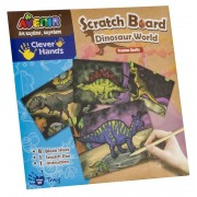 Set planse pentru Sgraffito - Lumea dinozaurilor