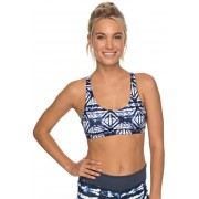 Roxy Sutien sport de baie Spirit Bra Dress Blues Geometric Feeling Small ERJKT03387-BTK8 XS