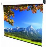 Ecran de proiectie Sopar New Spring SP3240, montabil pe perete, 240 x 200cm, Mecanism de blocare