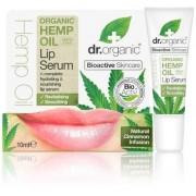 Dr. Organic Organic Hemp Oil Lip Serum - 10 ml