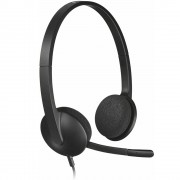 Casti Audio H340 SB Computer Headset Over Ear, Microfon, Negru LOGITECH