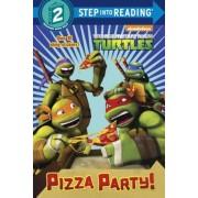 Pizza Party! (Teenage Mutant Ninja Turtles), Paperback