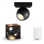 Philips Hue 50471/30/P6 LED bodová lampa Buckram 1x5,5W GU10 2200-6500K - Bluetooth, s dálkovým ovladačem
