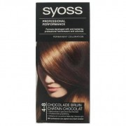 Syoss Professional Performance Haarverf nr 4-8 Chocolade Bruin