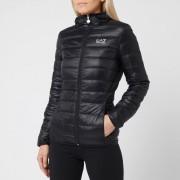 Emporio Armani EA7 Women's Train Core Lady Light Down Packable Jacket - Black - S - Black