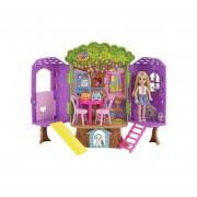 Barbie Chelsea Casa Del Árbol -Mattel
