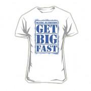 Camiseta Get Big Fast Blanca