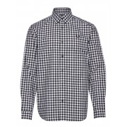 Fred Perry 2 Col. Gingham Shirt Skjorta Casual Blå Fred Perry