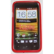 Силиконов гръб ТПУ за HTC Desire VC T328D Червен