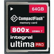 Card Memorie Compact Flash UltimaPRO 64GB Integral