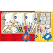 Toys Bhoomi Malinos 14+1 Magic XL Color Blopens with Bonus Material 300963 - Made in Germany