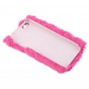 ER Piel Caliente Suave Moderno De Cristal Brillante Cubierta De Teléfono Para IPhone 5/5s 6/6s/6s Plus -Negro,rosa,rosa Roja,azul Royal