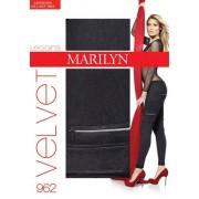 Eleganta leggings Velvet från Marilyn, 120 DEN black S/M