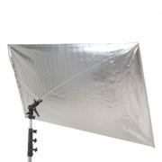 Falcon Eyes Reflector RR-5684SB Silver/Black 140x210 cm
